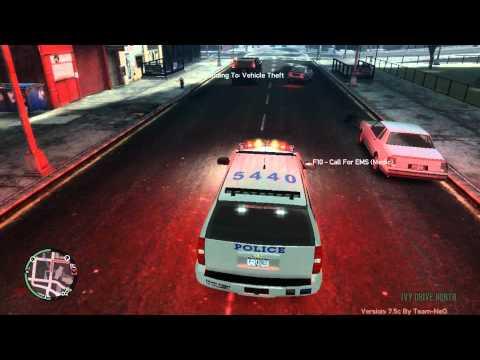 GTA IV Police Pursuit Mod 7.5c