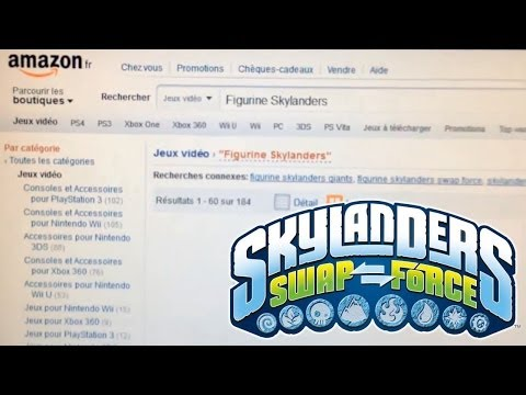 Wave 3 Skylanders Swap Force Characters Leaked on Amazon France
