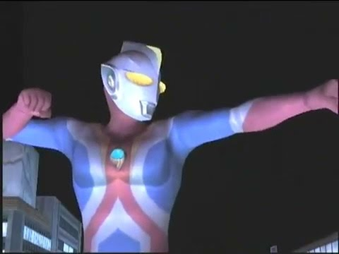 Ultraman Cosmos Fighting In Fe3 video