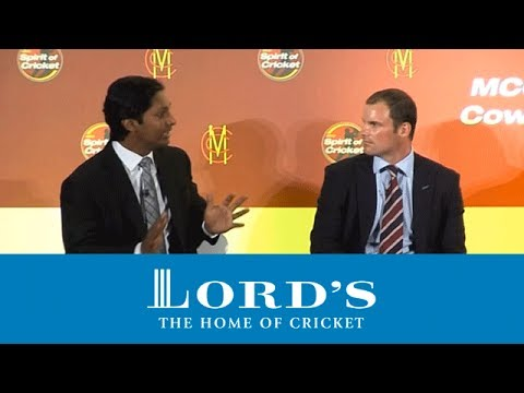 MCC Cowdrey Lecture 2011 - Kumar Sangakkara discusses Muttiah Muralitharan | The Spirit of Cricket