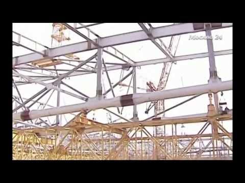 «Москва 24» о строительстве стадиона «Открытие Арена»