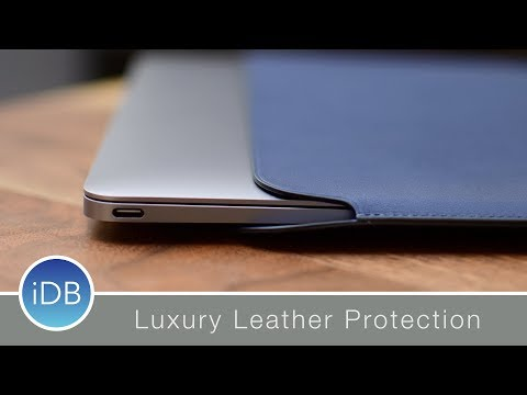 """Apple's Leather Sleeve for Retina 12"""" MacBook - Review"""