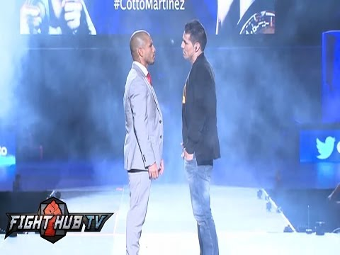 Miguel Cotto vs Sergio Martinez Puerto Rico press conference highlights