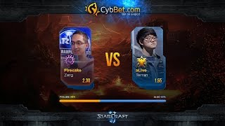 StarCraft 2 LotV Cybbet Race Wars 2016 Ro4 Match 1: FireCake vs aLive