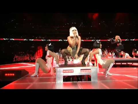 Madonna Give Me All Your Luvin&#039; Nicki Minaj MI.A. Super Bowl 2012- YouTube