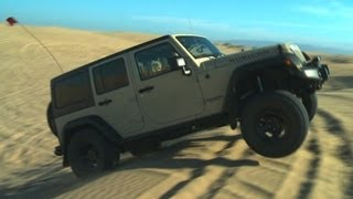 Sand Crawling in a Jeep Wrangler Rubicon! – Wide Open Throttle Episode 33