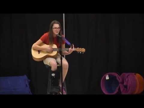 Salisbury Academy Talent Show 2014 Jessica Jensen
