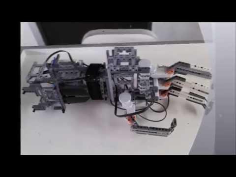 Brazo Robotico Lego EV3