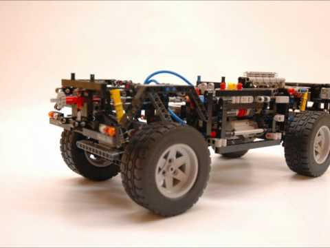 Lego 8110 - Technic Unimog U400 - Motion