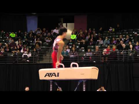 Kaito Imabayashi - Pommel Horse Finals - 2012 Kellogg&#039;s Pacific Rim Championships - 1st