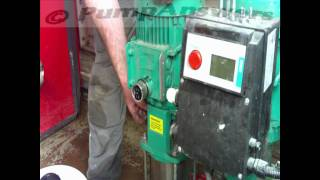 Mechanical Seal Change (Wilo Mvi type pump)