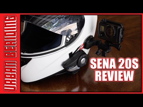 Sena 20S-02 Bluetooth & Sena GP10-02 GoPro Backpack Review