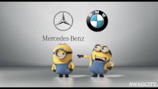 Mercedes-Benz vs BMW New 2016 Minions Style