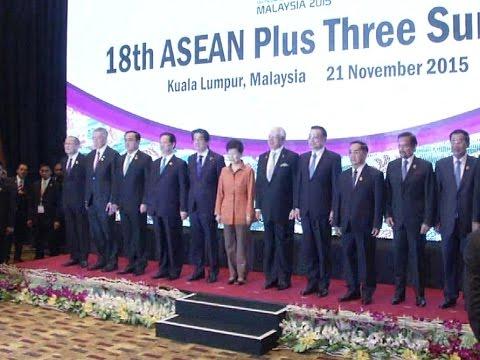 Premier Li attends ASEAN-China, Japan, S.Korea leaders' meeting