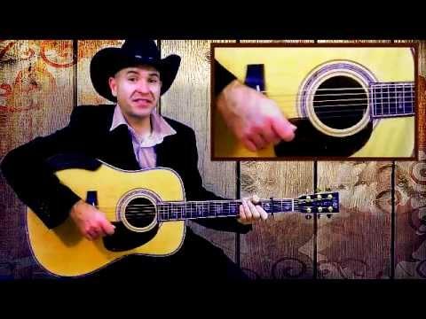 Goldrush - Original flatpicking guitar lesson by Paco Pascual.
