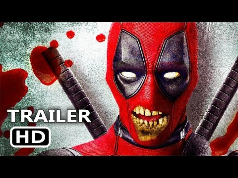 "DEADPOOL 2 ""Zombie Mode"" Trailer (NEW, 2018) Ryan Reynolds Superhero Movie HD"