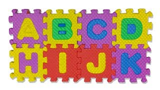 ABCD Song Learn Alphabet Letter Puzzle Kid Toys Play Time