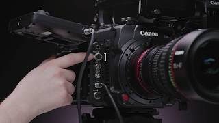 01. How-To: Canon EOS C700 Before The Prep- Setting Up Video Outputs