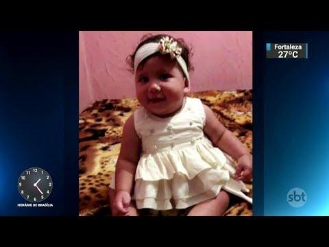 Bebê de um ano morre após ser estuprada por marido da babá | SBT Notícias (20/11/17)