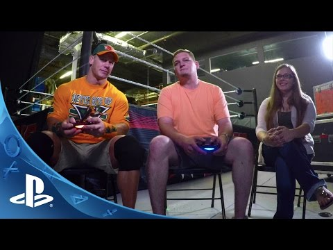 PlayStation HEROES John Cena Plays WWE 2K16