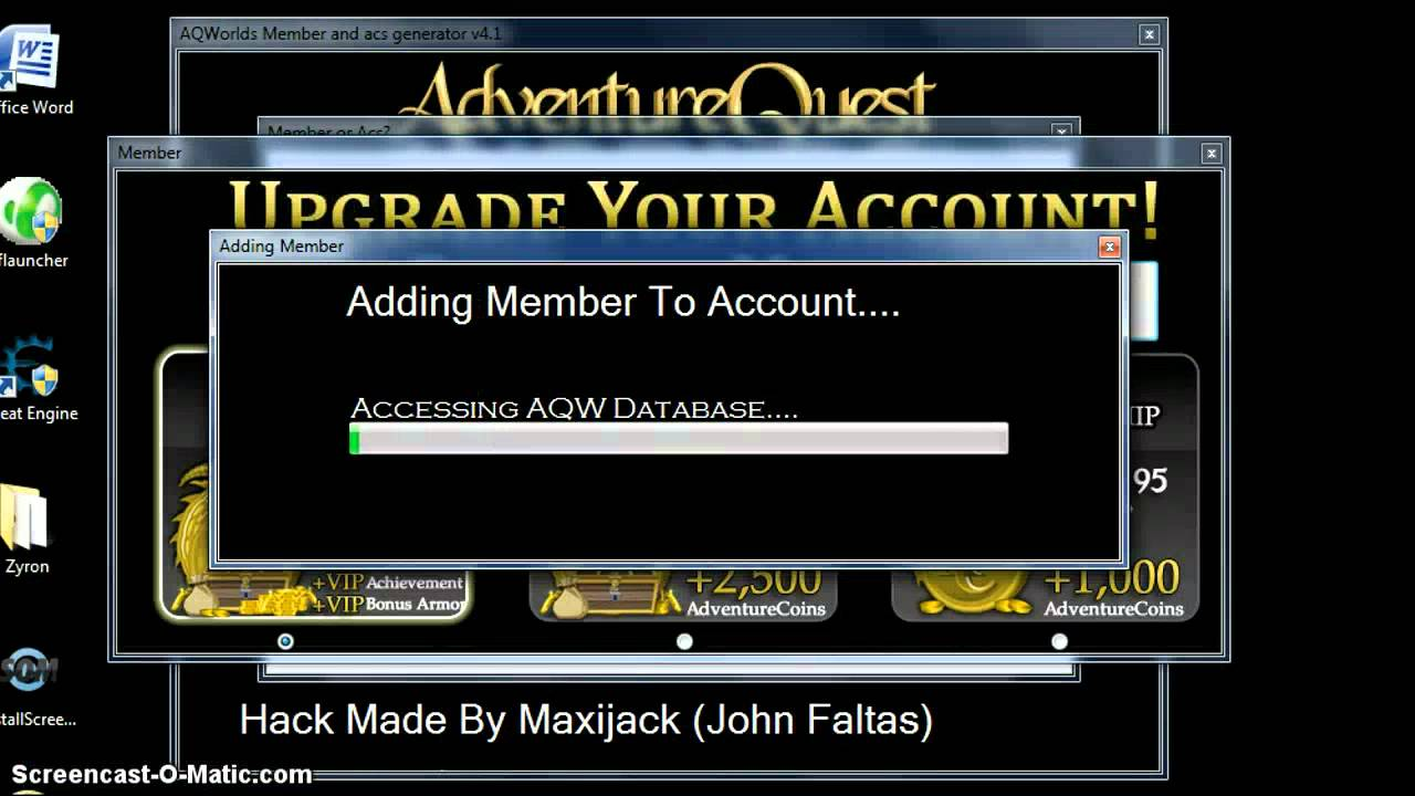 aqw how to get free ac coins 2016