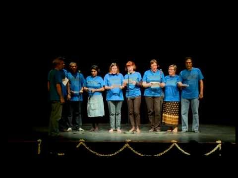 SDVS Singers, Srilankan-German Association, Stuttgart, Germany sings