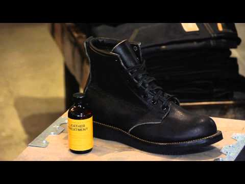 How to Soften or Break-In Men's Boots : Men's Boots & Denim Fashion