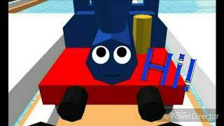 Thomas the train 3D cartoon | episode 4 | unikitty meets small train | S1