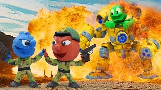 Tiny Becomes Supreme Soldier - Tiny Day Stop Motion Animation Cartoons