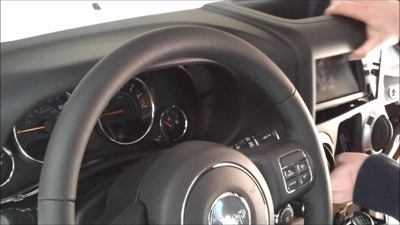 jeep.compass 2012 how to change time on.radio