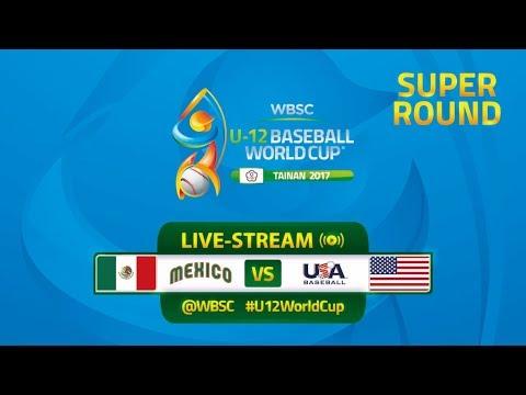 Mexico v USA - Super Round - WBSC U-12 Baseball World Cup 2017