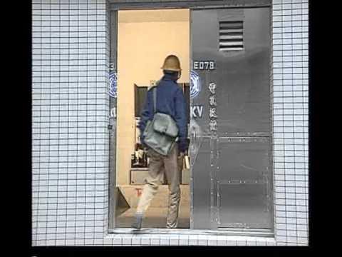 颱風期間地下室入口加裝匣門