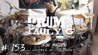 Iron Maiden - Children of the Damned [Drum Cover] by Paul Gherlani