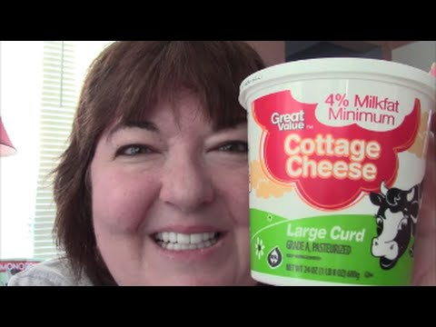 Check Out My Large Curd Cottage Cheese!