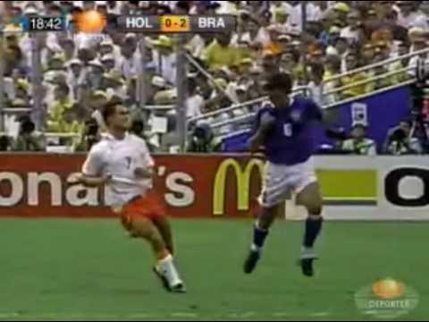 Brasil vs Holanda- World cup  USA ´94- Gol de Bebeto- Festejo famoso