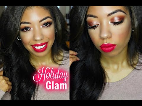 Christmas Holiday Makeup Tutorial: GET READY WITH ME!