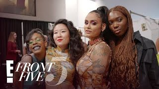 Kim Shui Talks Kylie Jenner & Gets Ready for NYFW Show | NYFW Front Five | E!