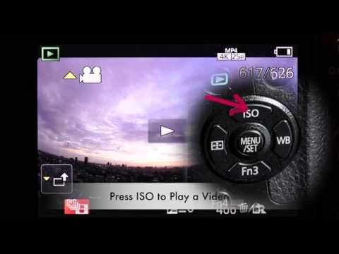 Test LUMIX G7 4K Time Lapse Video