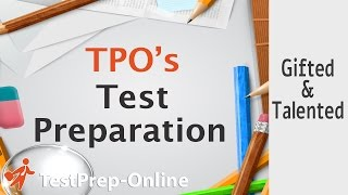 Gifted and Talented Test Prep - TestPrep-Online
