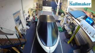 Speedboot open bow en kuip zeil, Iam Sailmaker