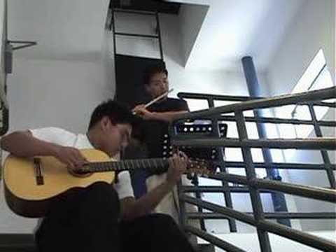 Kiss The Rain (Flute & Guitar)