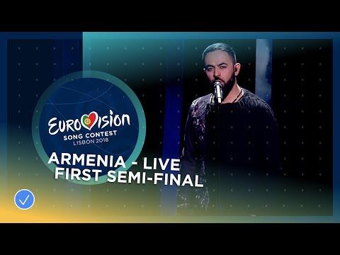 Sevak Khanagyan - Qami - Armenia - LIVE - First Semi-Final - Eurovision 2018