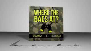 Where The Baes At? (Lyric Video) - Eric Dlux, Redfoo, Rio