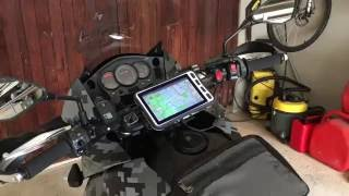 Making your motorbike gloves work with touch screens