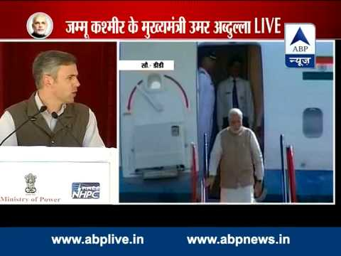 Omar Abdullah thanks Manmohan Singh while welcoming Modi in Leh