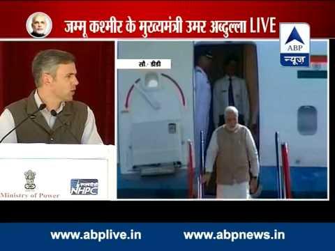 Omar Abdullah thanks Manmohan Singh while welcoming Modi in Leh