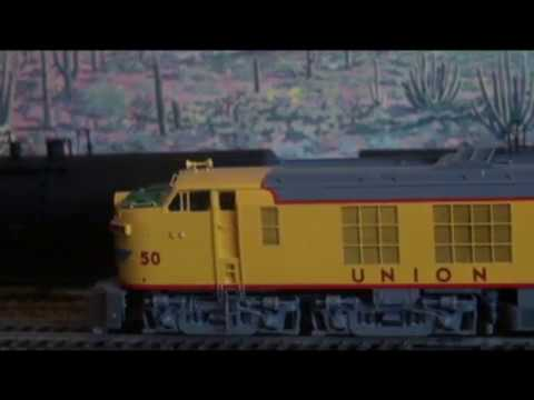 UNION PACIFIC DOUBLE CAB GE TURBINE HO scale by Overland Models