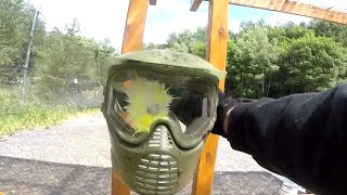 PAINTBALL in FIRST PERSON - Woodland Battle [GoPro]