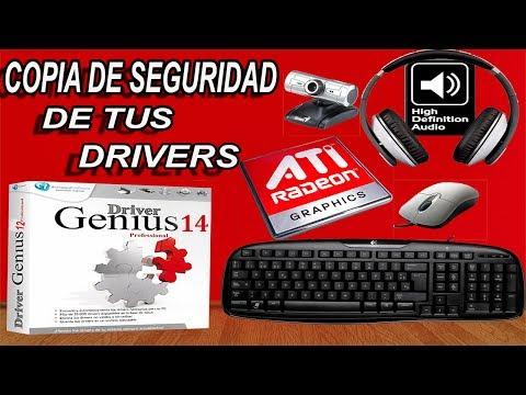 Como Hacer Una Copia de Seguridad de Nuestros Drivers!!! - Con Drivers Genius Professional 14