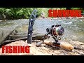 SURVIVAL FISHING CHALLENGE!!! (NO Lures & NO Bait) thumbnail